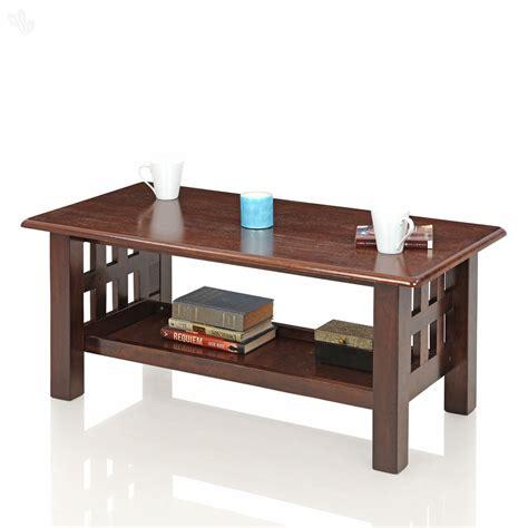 Buy Royal Oak Sydney Coffee Table With 1 Shelf Solid Wood ...