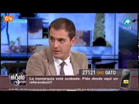 C s   Albert Rivera en  El Gato al Agua  de Intereconomía ...