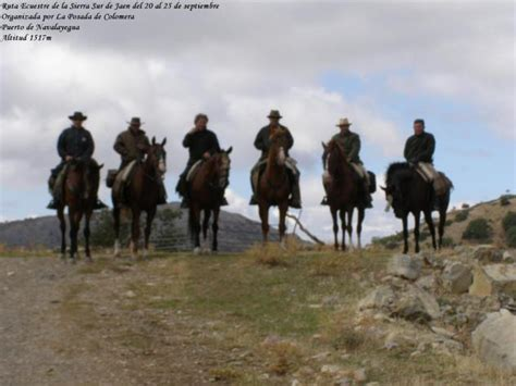 Caballistas en Navalayegua, VALDEPEÑAS DE JAEN (Jaén)
