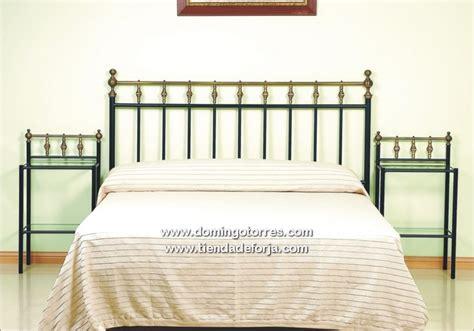 Cabecero y cama rústica de forja con latón C 2 ‹ Forja ...