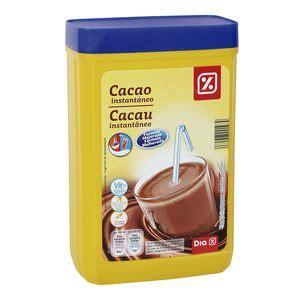 CACAO SOLUBLE / INSTANTÁNEO   CACAO   DESAYUNO, DULCES Y ...