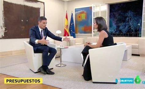 Cachondeo durante la entrevista a Pedro Sánchez en 'El ...