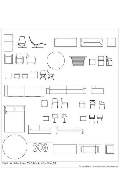 CAD Blocks Furniture Pack 03 First In Architecture Design ...