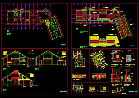 CAD BUILDING TEMPLATE : LIBRARY
