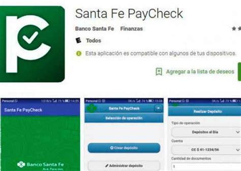 Cada vez más empresas utilizan Banco Santa Fe Paycheck ...