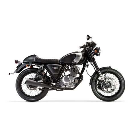 CAFE RACER 125 cc black Euro 4   Mash Motors