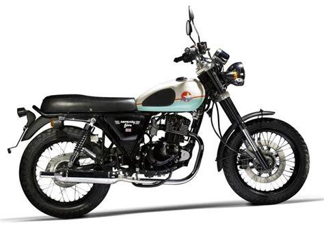 CAFÉ RACER 76: Chinese Motorcycle Mash 125 Seventy Five 2013