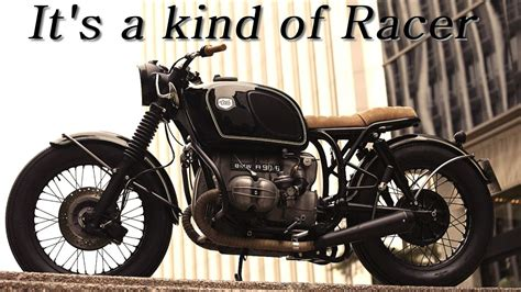 Cafe Racer (BMW R90 by Cafe Racer Dreams- CRD) - YouTube