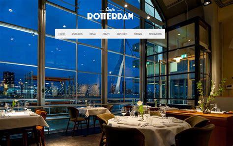 Café Rotterdam. Restaurant on the Cruise Terminal Rotterdam