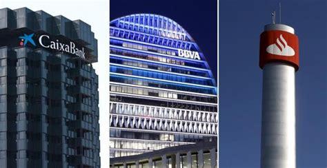 CaixaBank, BBVA y Banco Santander, las empresas del sector ...