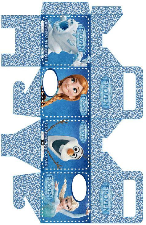 Caja de frozen de cumpleaños para imprimir   Imagenes y ...