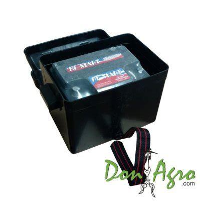 Caja porta Bateria hasta 75 Amp con tapa y correa $274,87 ...
