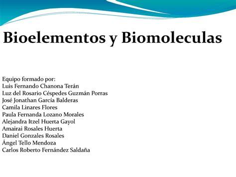 Calaméo - Bioelementos y biomoleculas.