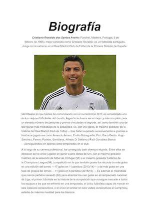 Calaméo   Biografía Cristiano Ronaldo