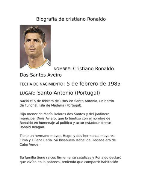 Calaméo   Biografía De Cristiano Ronaldo