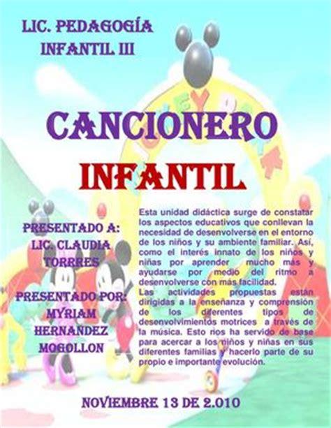Calaméo - CANCIONERO INFANTIL MYRIAM