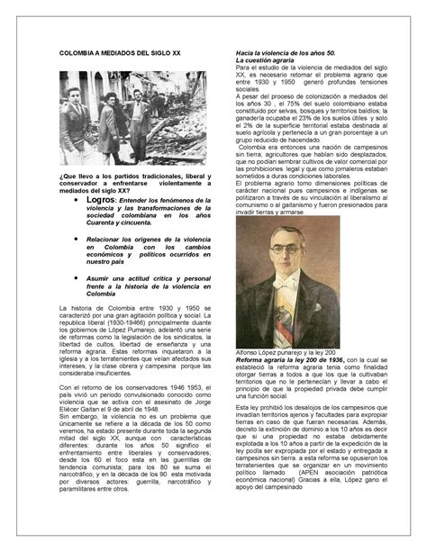 Calaméo   COLOMBIA A MEDIADOS DEL SIGLO XX
