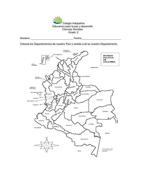 Calaméo - División Política de Colombia