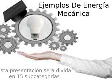 Calaméo - Ejemplos De Energía Mecánica
