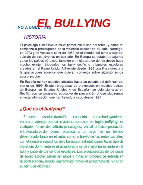 Calaméo   EL BULLYING