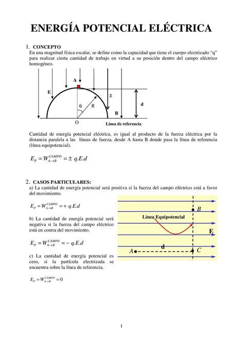 Calaméo   ENERGÍA POTENCIAL ELECTRICA