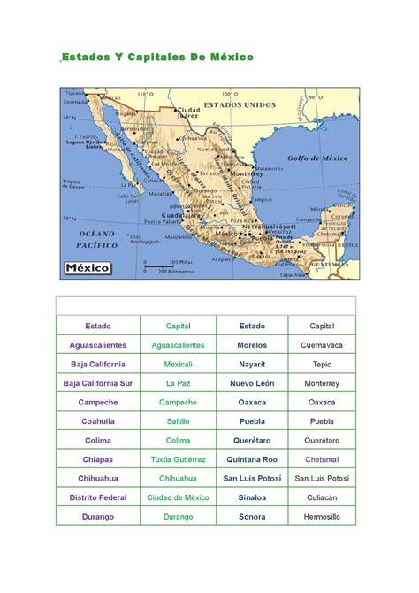 Calaméo - Estados+y+capitales+de+mexico