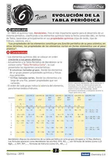 Calaméo - Evolución de la Tabla Periódica de Mendeleiev ...
