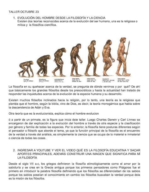 Calaméo - Evolución Del Hombre Desde La Filosofía Y La Ciencia