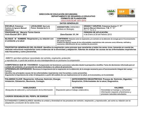 Calaméo   FORMATO PLANEACION 2011.doc Actual.