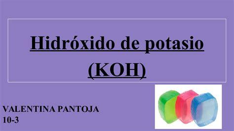 Calaméo - Hidróxido De Potasio (Koh)