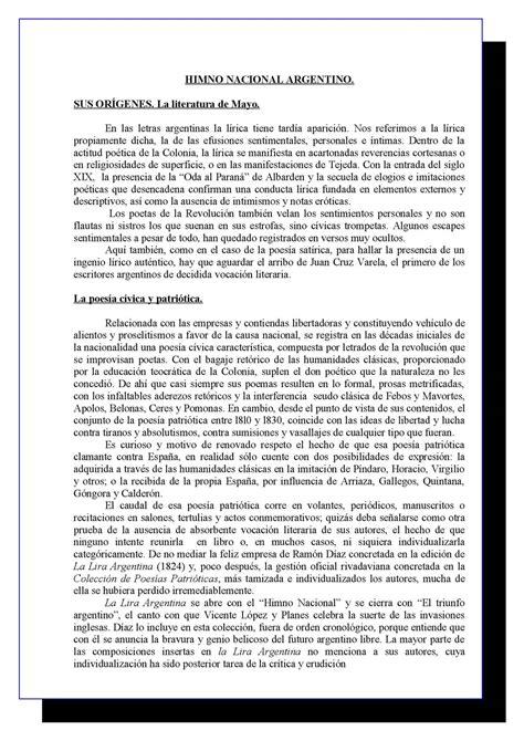 Calaméo   Himno Nacional Argentino  Postítulo