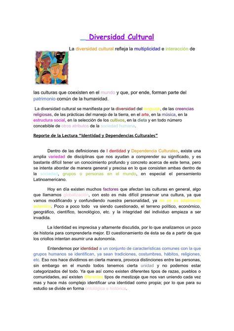 Calaméo - IMPORTANCIA DE LA DIVERSIDAD CULTURAL