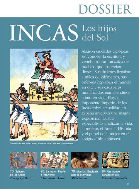 Calaméo - Incas. La aventura de la Historia