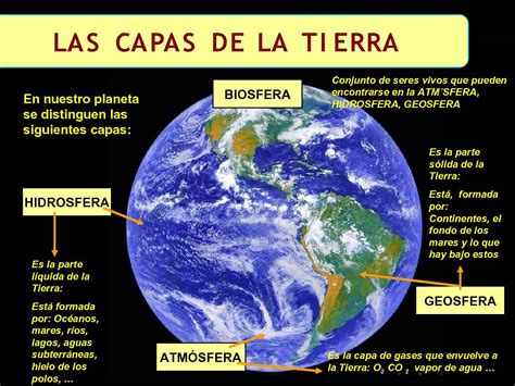 Calaméo   las capas de la tierra: La geosfera