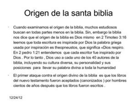 Calaméo   Origen de la santa biblia