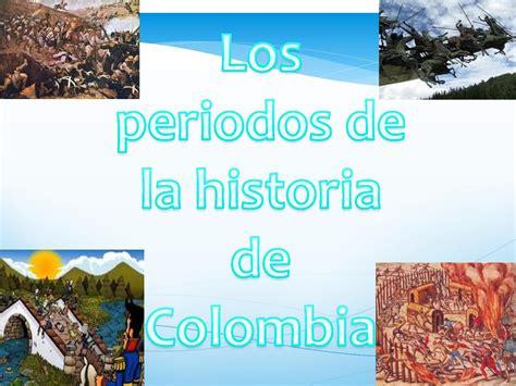 Calaméo - Periodos De La Historia De Colombia 5to