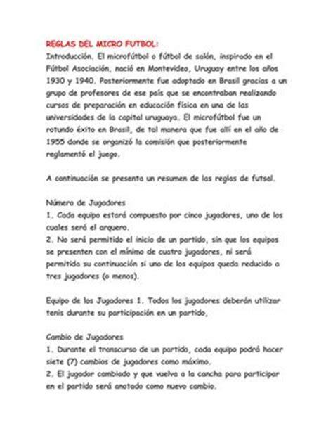Calaméo   REGLAS DEL MICRO FUTBOL