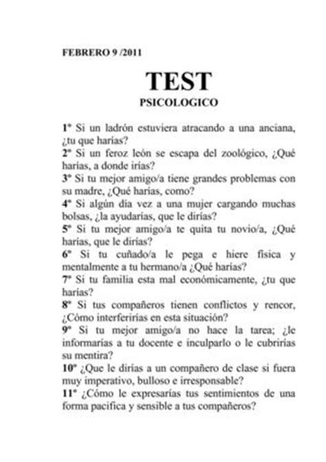 Calaméo   TEST PSICOLOGICO