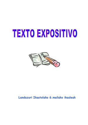Calaméo   Texto expositivo