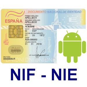 Calcular letra del NIF o NIE   Android Apps on Google Play