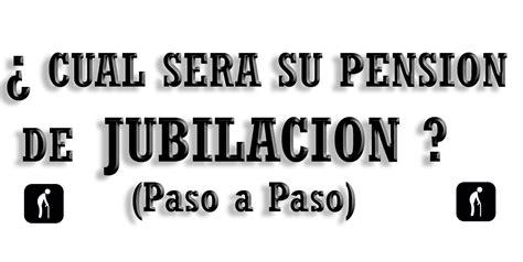 CALCULAR PENSION JUBILACION - Consultar Pensión Jubilación ...