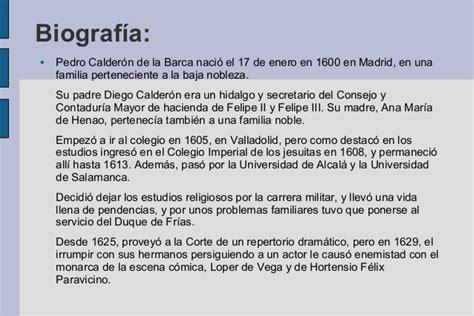 Calderón de la barca   APF