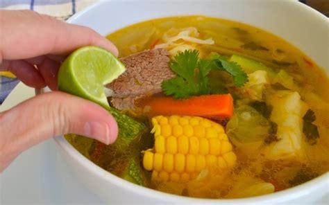 Caldo de Res: Mexican Beef and Vegetable Soup | Quick ...