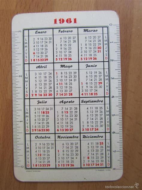 calendario 1961 banco guipuzcoano   Comprar Calendarios ...