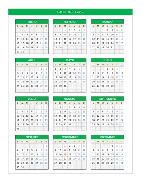 Calendario 2017  5    2019 2018 Calendar Printable with ...