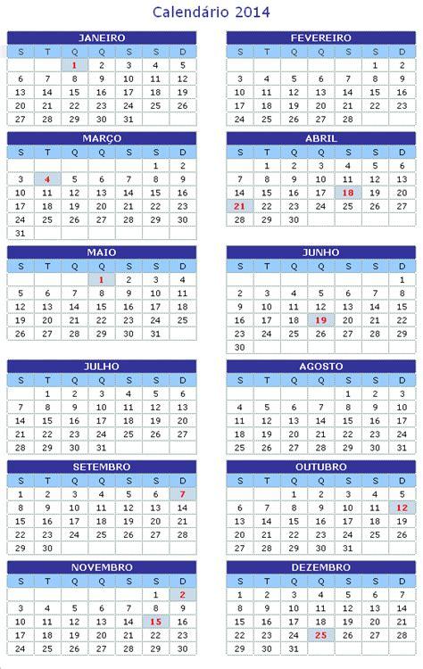 Calendário 2018   Feriados 2018