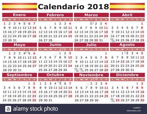 Calendario 2018 Stock Photos & Calendario 2018 Stock ...
