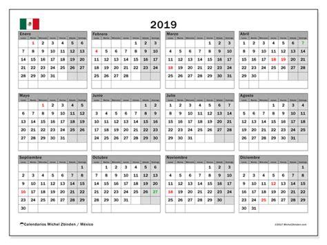 Calendario 2019, México   Michel Zbinden  es