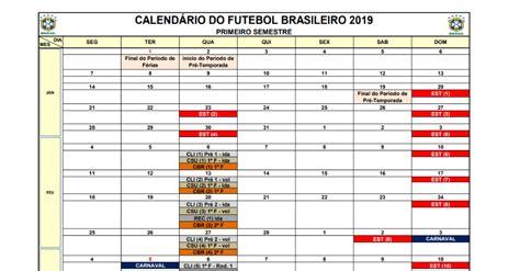 Calendário 2019 repete problemas com data-Fifa, mas 'para ...