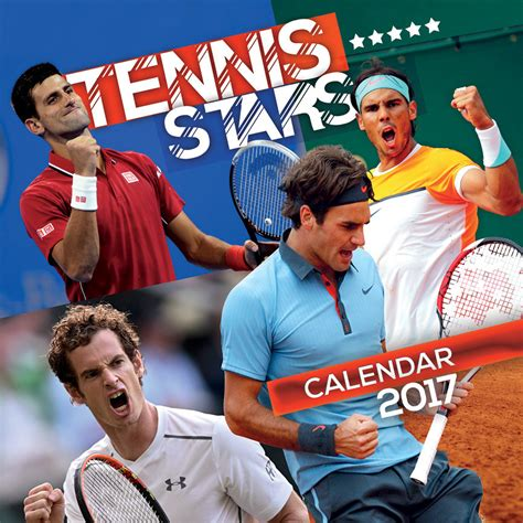 Calendario 2019 Tennis   Stars   EuroPosters.it